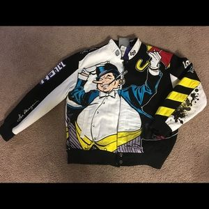 "Retro DC ""Penguin"" Letterman Jacket"